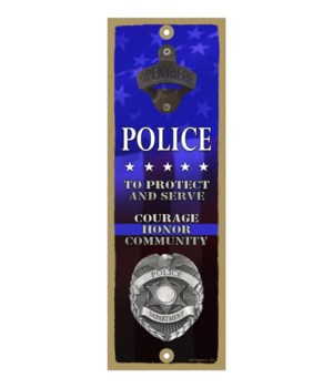 Police - To Protect and Serve -Honor, C