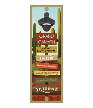 Southwest 5x15 Bottle opener sign