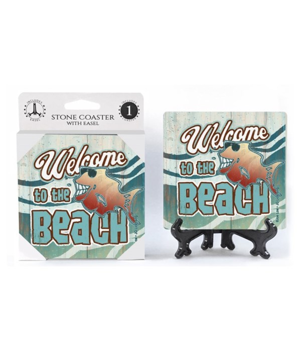 Welcome to the Beach (smiling fish with