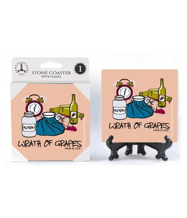 Wrath of grapes - alarm clock with aspir