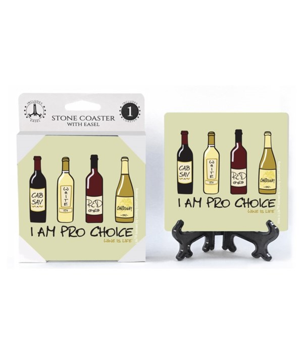 I am pro choice - four different wine bo