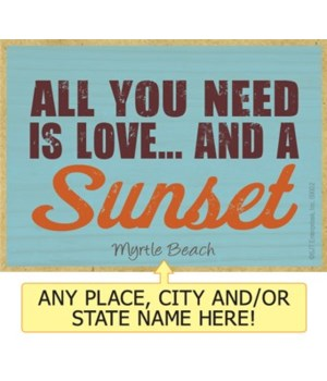 All you need is love... and a sunset Mag