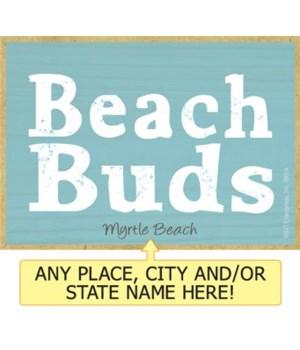 Beach buds Magnet