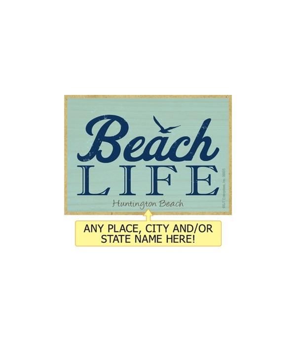 Beach life Magnet