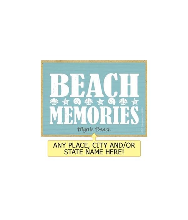 Beach memories Magnet