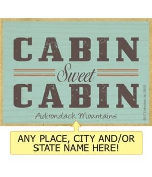 Cabin sweet cabin Magnet