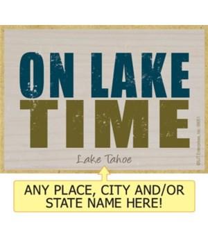 On lake time Magnet
