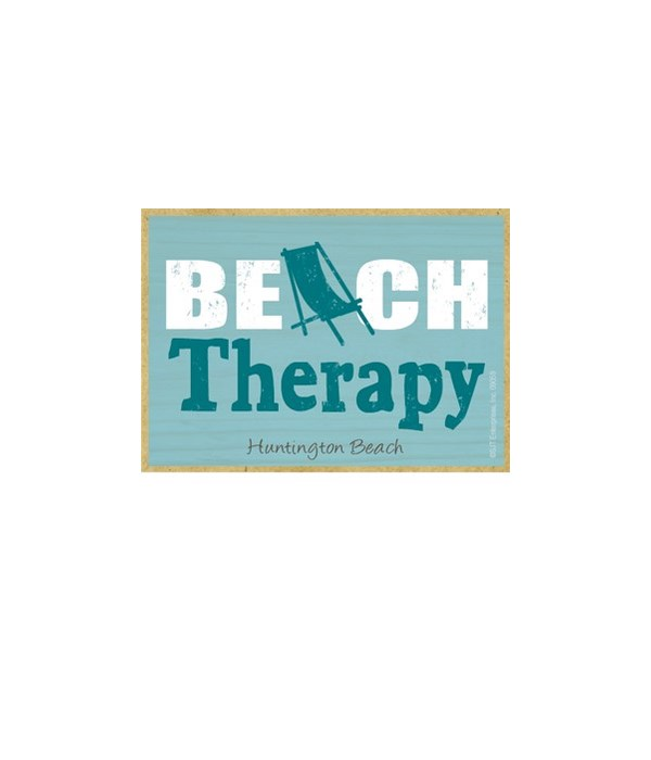 Beach therapy Magnet