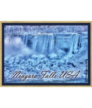 American Falls in winter Magnet