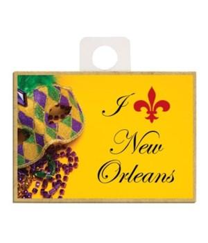 """I (red fleur de lis) New Orleans"", brig"