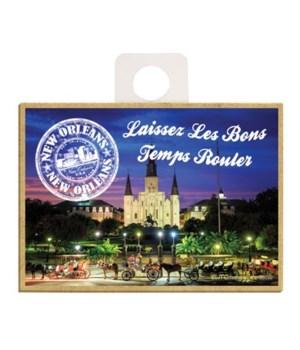 """""""Laissez Les Bons Temps Rouler"""", St. Lou"""