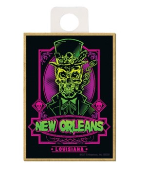 """""""New Orleans"""" - Day of the Dead Skeleton"""
