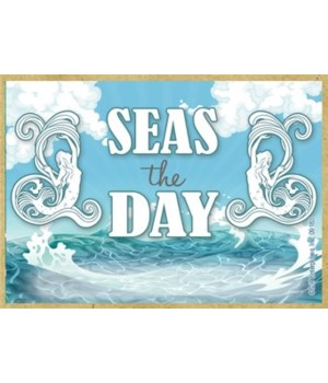 Seas the day Magnet