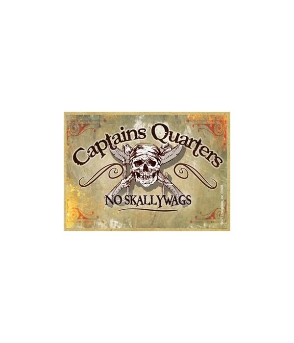Captain's quarters Magnet