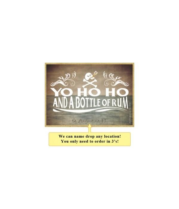 Yo ho ho and a bottle of rum! Magnet