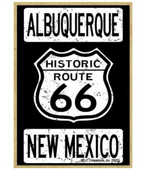 Route 66 - Albuquerque, New Mexico Magne