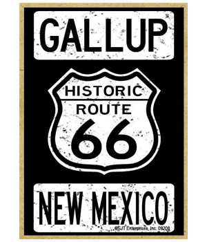 Historic Route 66 - Gallup, New Mexico -