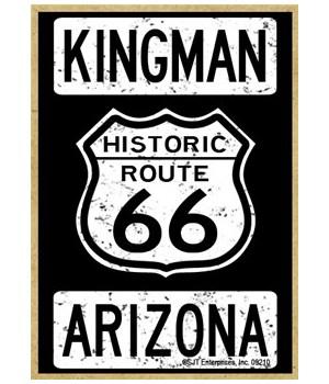 Historic Route 66 - Kingman, Arizona - W