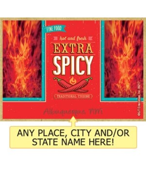 Extra Spicy - hot and fresh - traditiona