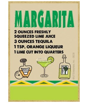 Southwest Recipe - Margarita - yellow an