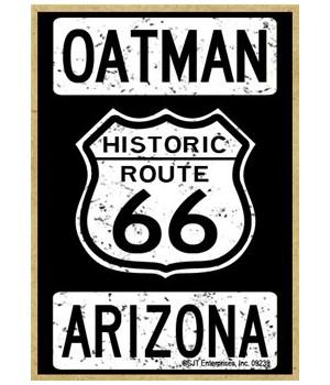 Historic Route 66 - Oatman, Arizona - Wh