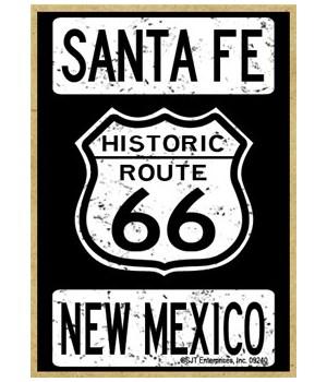 Historic Route 66 - Santa noe, New Mexic
