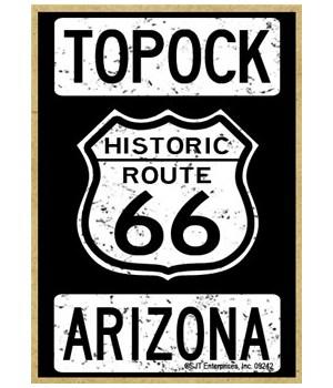 Historic Route 66 - Topock, Arizona - Wh