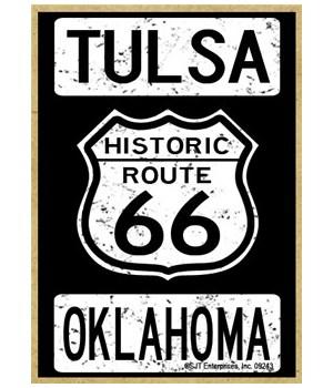 Historic Route 66 - Tulsa, Oklahoma - Wh