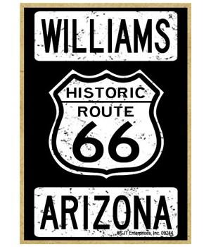 Historic Route 66 - Williams, Arizona -