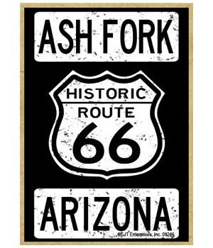 Historic Route 66 - Ash Fork, Arizona -
