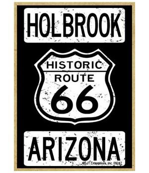 Historic Route 66 - Holbrook, Arizona -