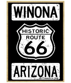 Historic Route 66 - Winona, Arizona - Wh