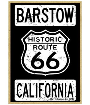 Historic Route 66 - Barstow, California