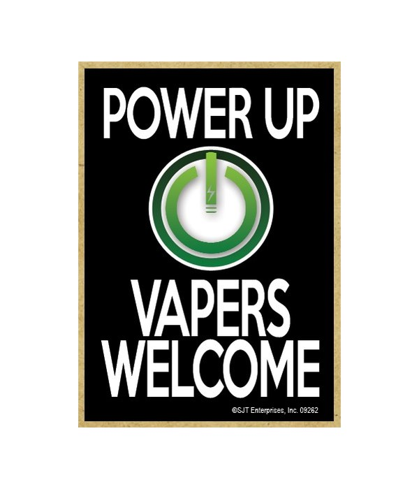 Power up, vapers welcome Magnet