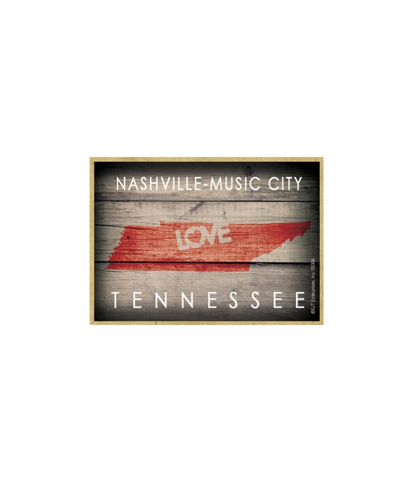 """Nashville Music City, TN """"LOVE"""""""
