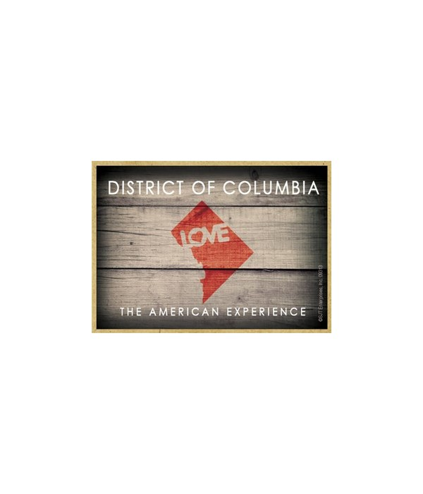 DISTRICT OF COLUMBIA  - State Outline wi