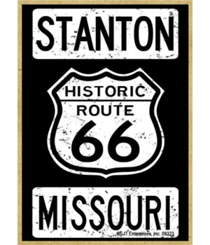 Route 66 - Stanton, Missouri Magnet