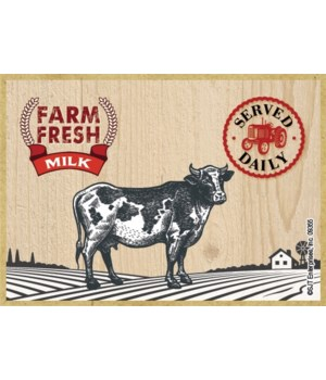 Farm Fresh Milk Magnet