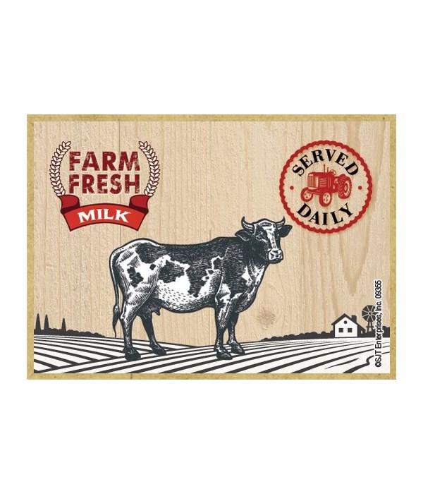 Farm Fresh Milk Magnet
