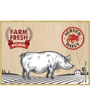 Farm Fresh Pork Magnet