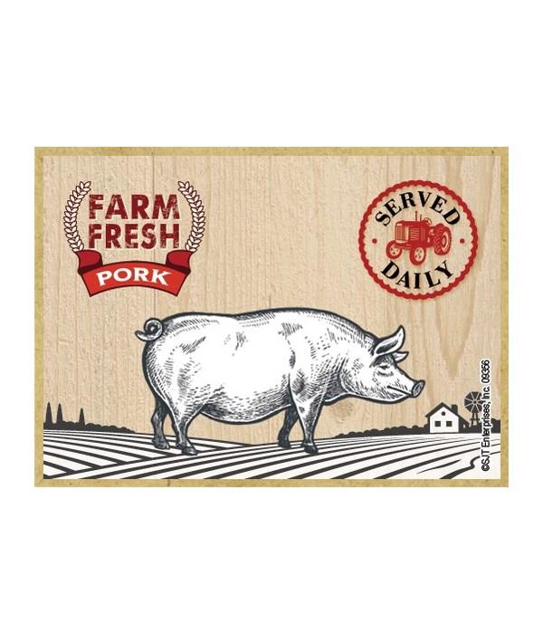 Farm Fresh Pork Magnet