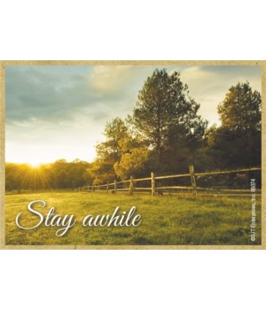 Stay awhile Magnet