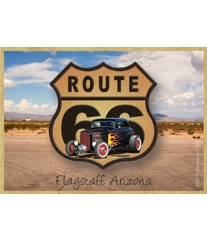 Route 66 hot rod (brown shield) dirt roa