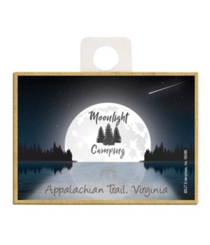 Moonlight Camping - Lake moon w/night sk