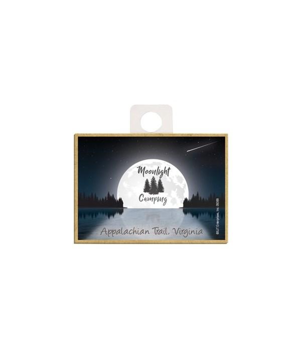 Moonlight Camping - Lake moon w/night sk