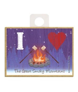 I (heart) Campfire w/marshmallows - symb
