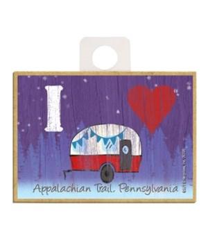 I (heart) Camper - symbols Magnet