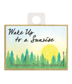 Wake up to a Sunrise - Forest sunrise Ma