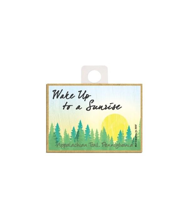 Wake up to a Sunrise - Forest sunrise Ma