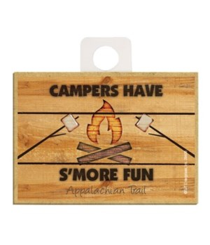 Campers have S'more Fun - campfire w/mar